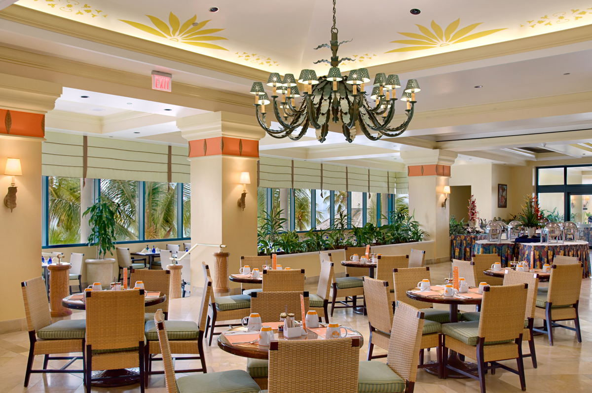 Lighthouse terrace restaurant at hilton barbados resort for Terrace hotel restaurant